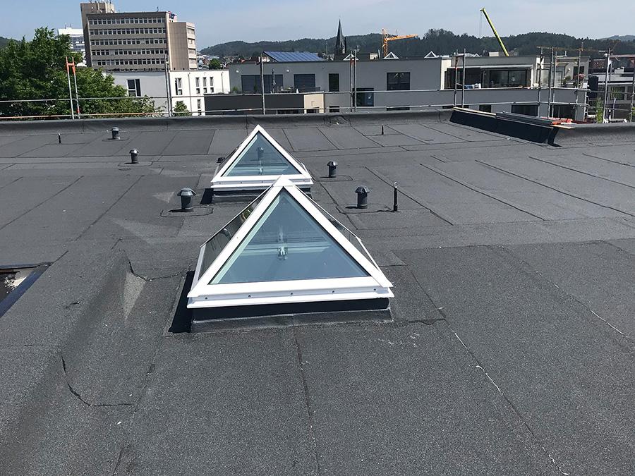 Flachdachpyramiden Bild 1